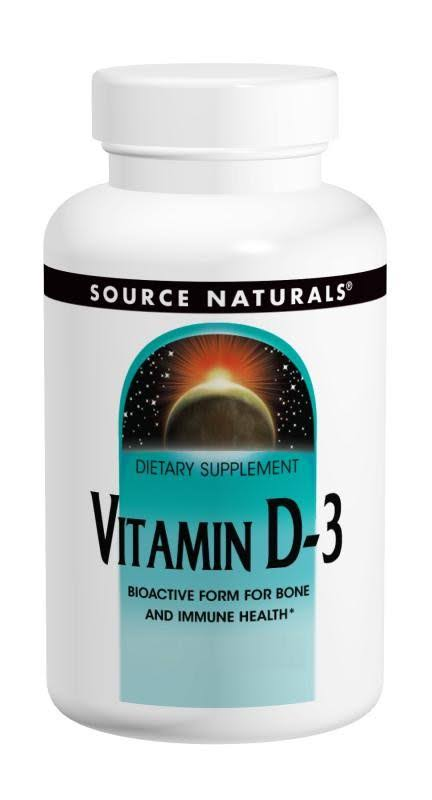 Source Naturals Vitamin D Supplement - 400IU, 200 Tablets