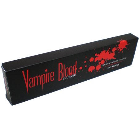 Vampire Blood Incense Sticks - 40g Sticks, Brown