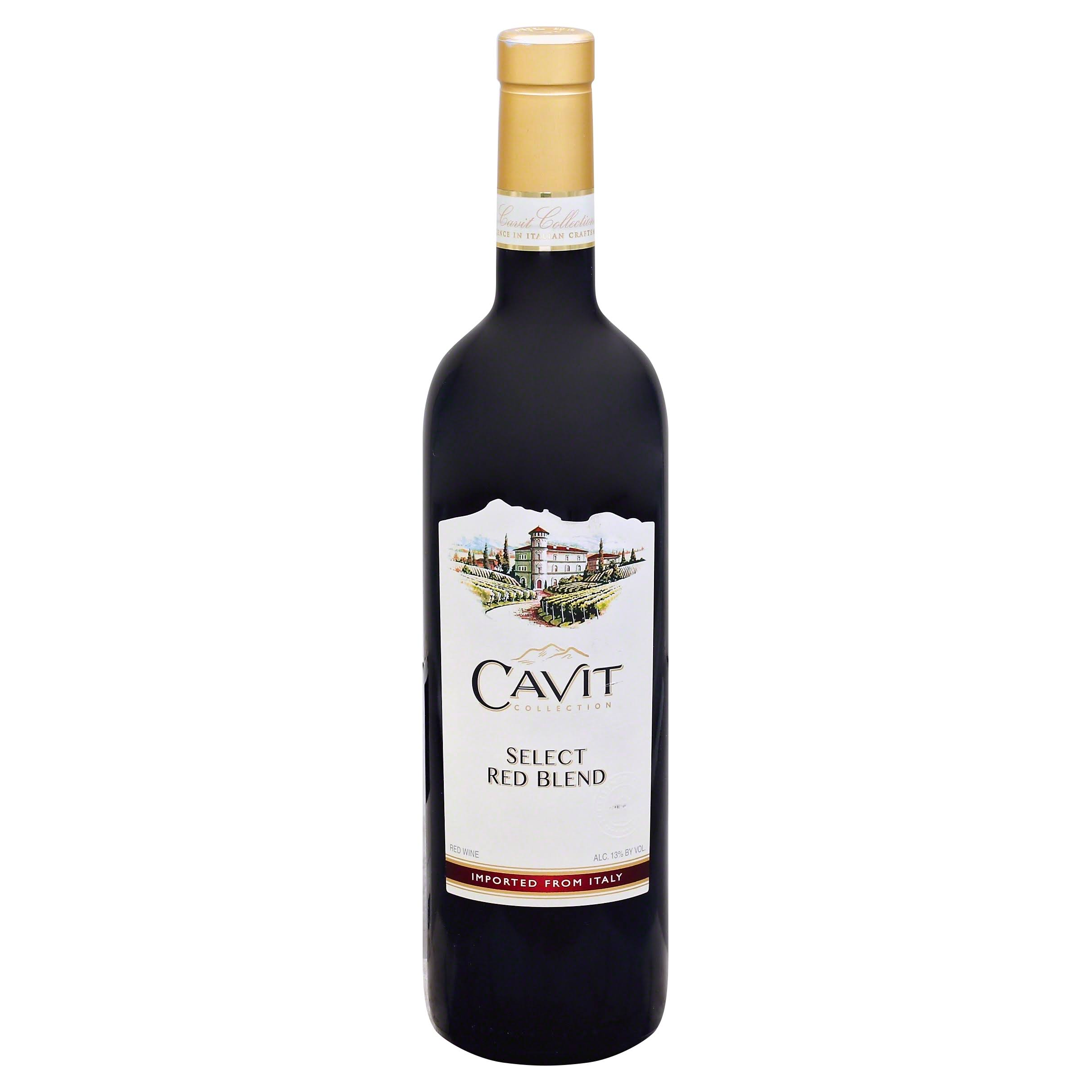 Cavit Select Red Blend, Italy (Vintage Varies) - 750 ml bottle