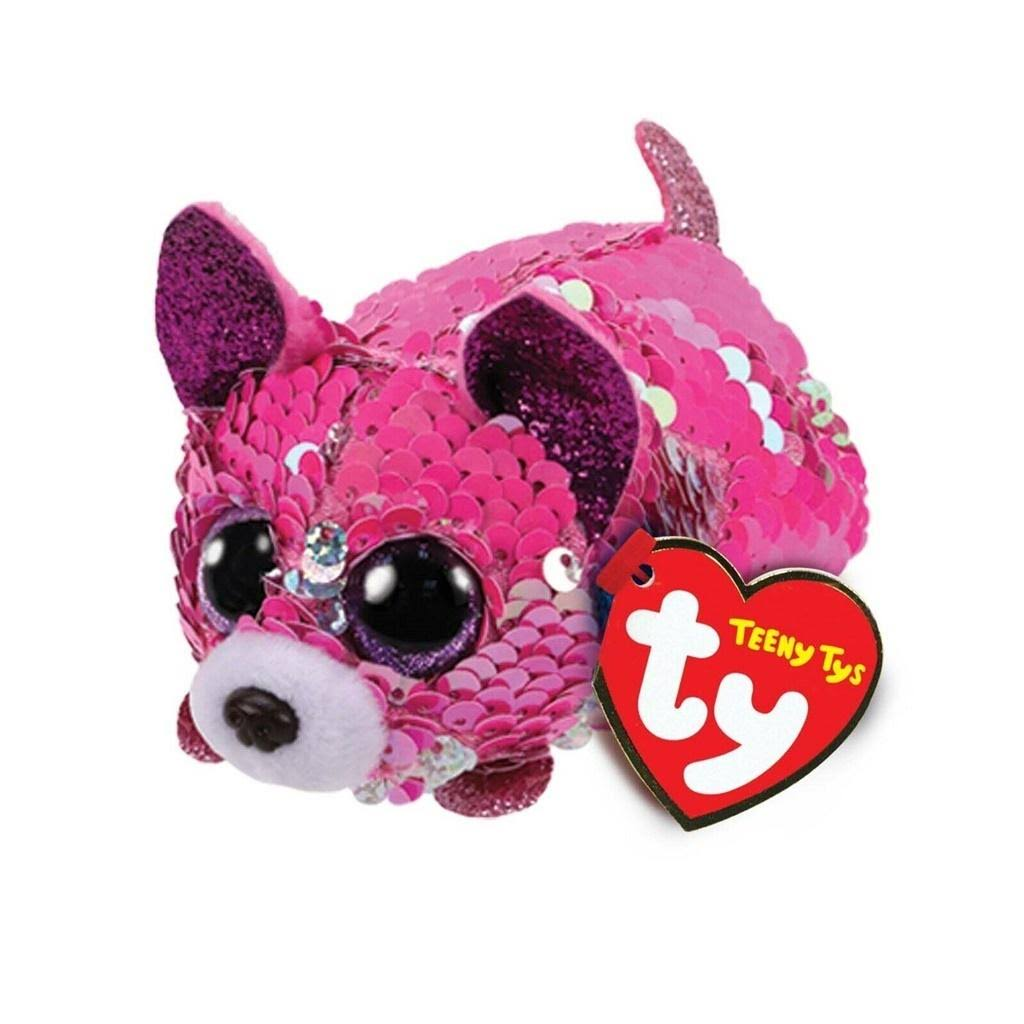 Ty Yappy The Chihuahua Teeny Tys Flippable Sequin Plush