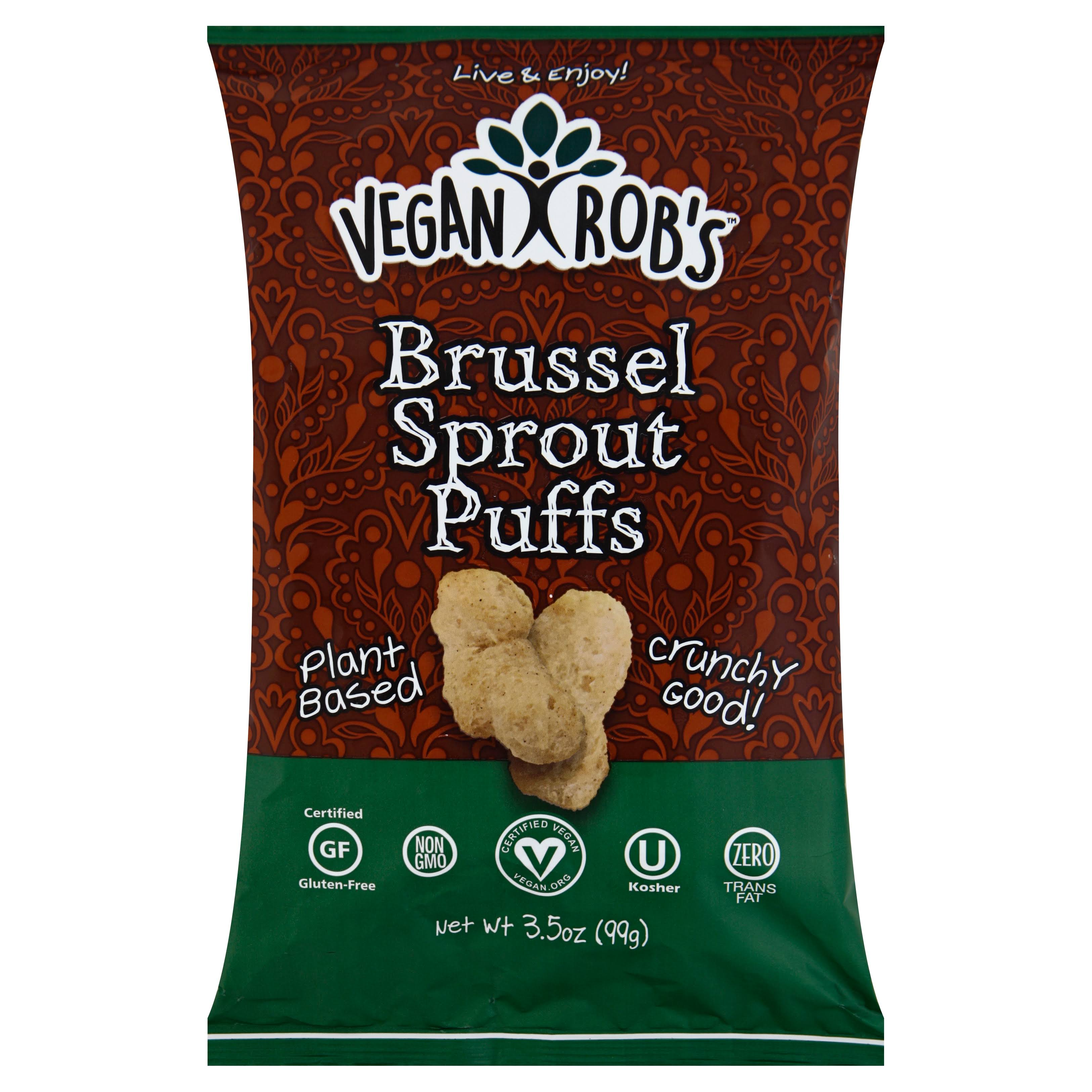 Vegan Robs Brussel Sprout Puffs - 3.5 oz