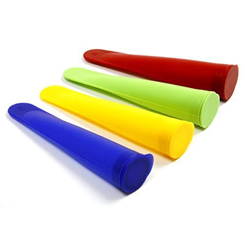 Norpro Silicone Ice Pop Makers - 4pcs