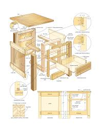 free end table plans quick woodworking projects diy woodoperating