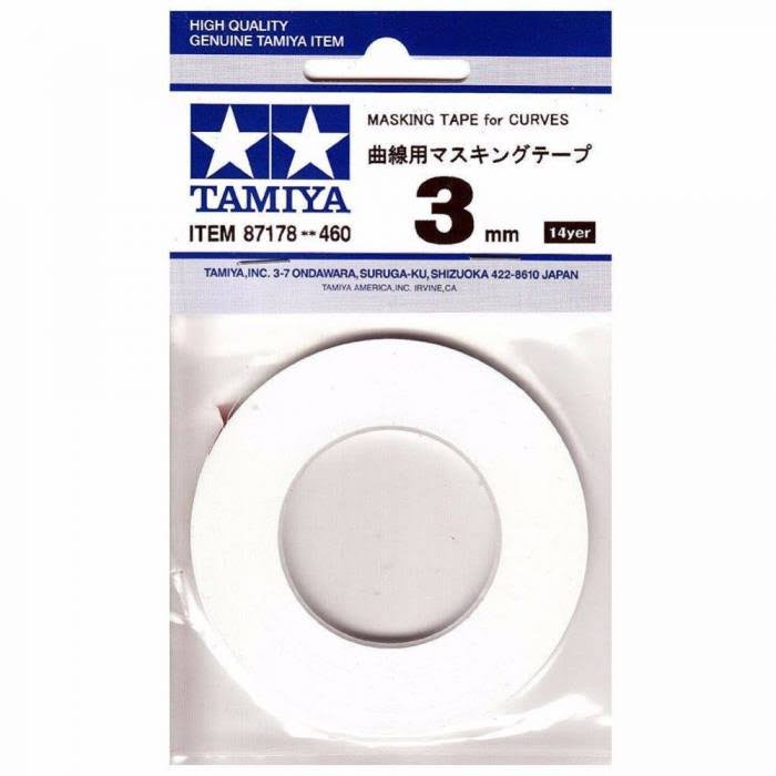 Tamiya 87178 - Masking Tape for Curves 3mm