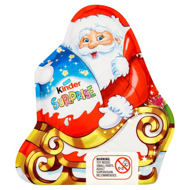 Kinder Surprise Santa Figure - 75g
