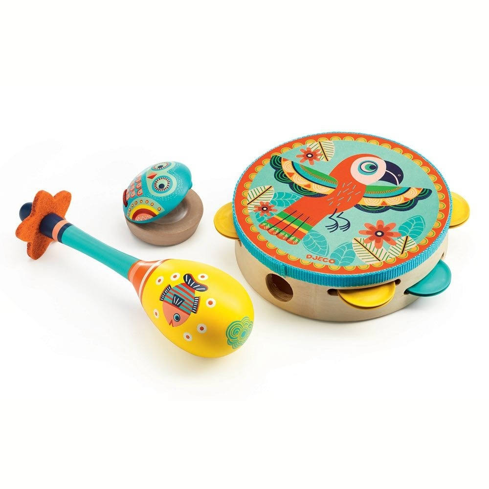 Djeco Musical Instruments Set - 3 Set