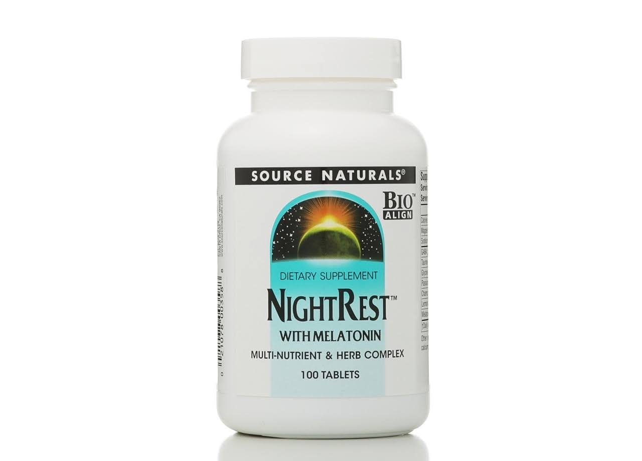 Source Naturals Night Rest Dietary Supplement - 100 Tablets