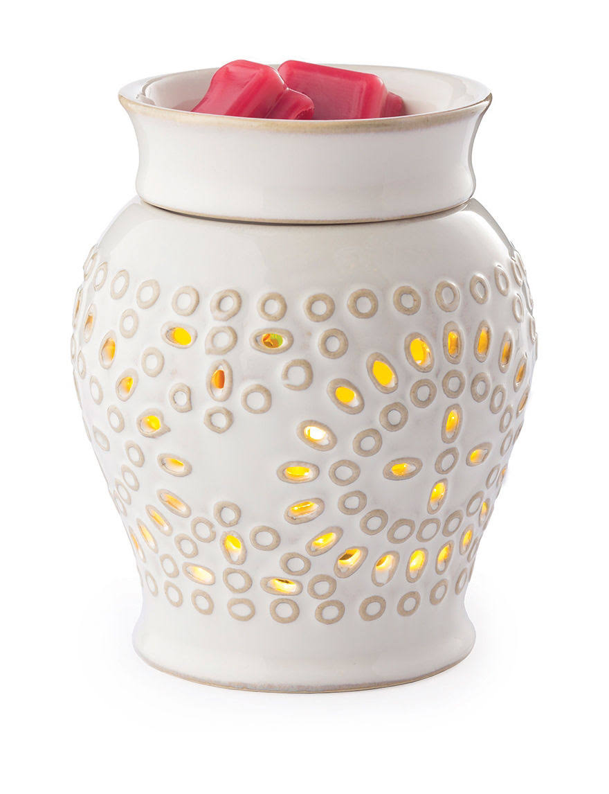 Candle Warmers Etc. Casablanca 2-in-1 Flickering Fragrance Warmer - 7.3in