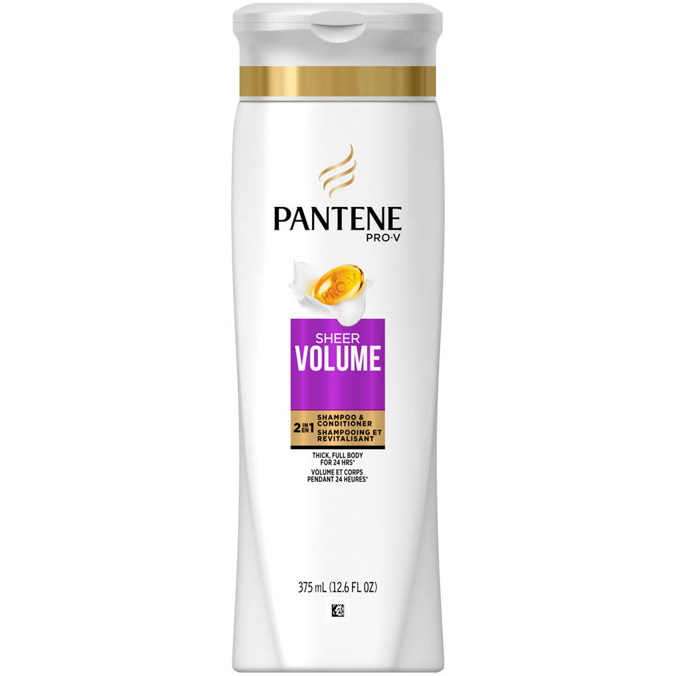 Pantene Sheer Volume 2IN1 Shampoo & Conditioner - 375ml