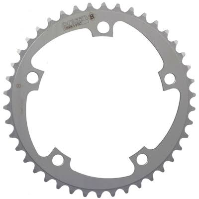 Origin8 Alloy Blade Chainrings - Silver, 94mm, 5 Bolt, 34t