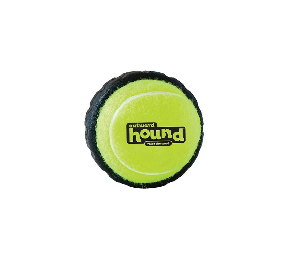 Outward Hound 67712 Tire Ball Toy, Large, Yellow