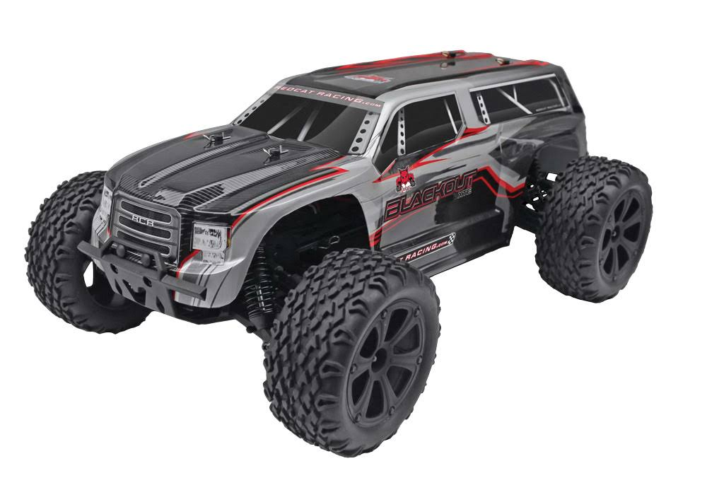 Redcat Racing Blackout XTE Brushed Electric RC Monster Truck SUV Model Kit - 1/10 Scale