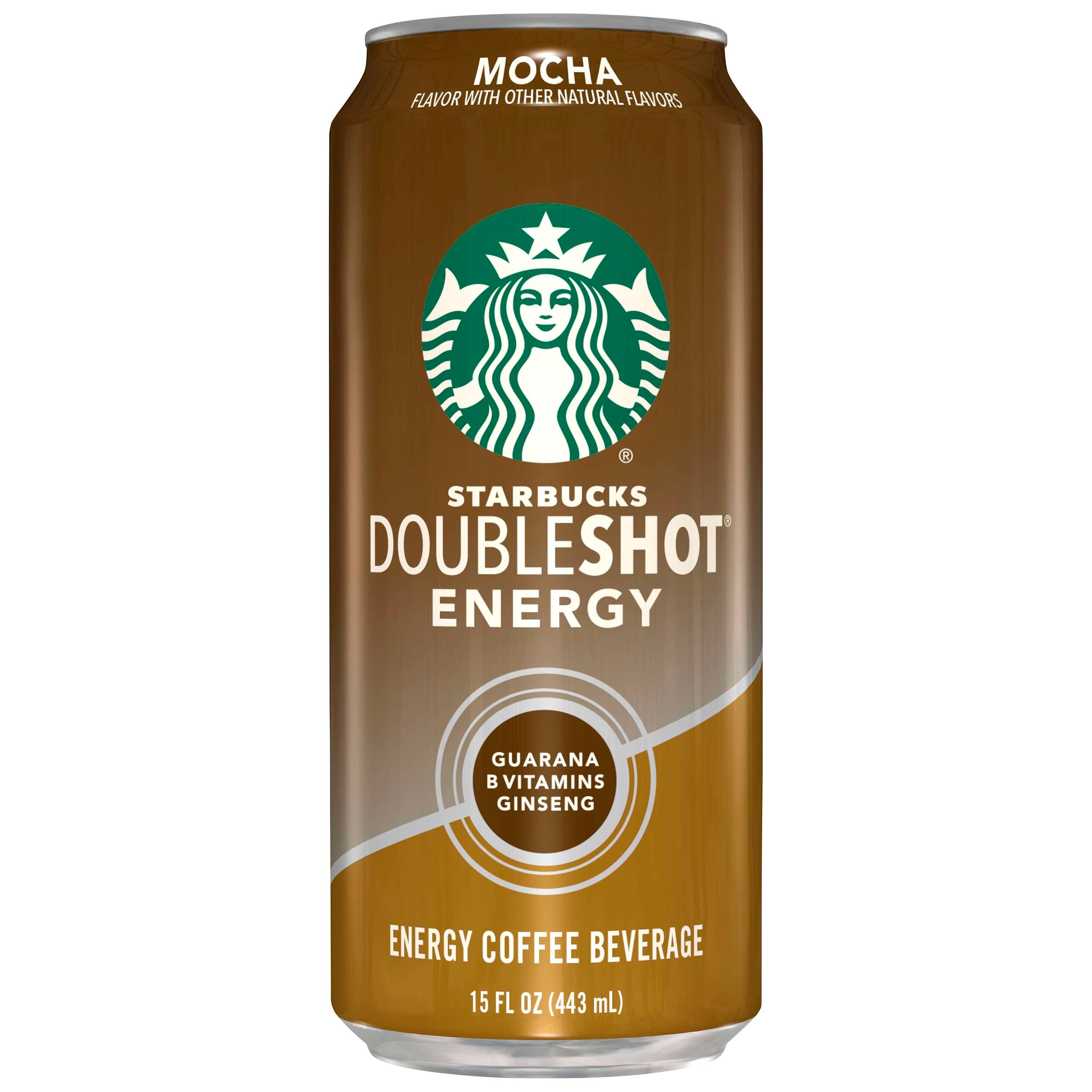 Starbucks Doubleshot Energy Coffee Beverage - Mocha, 443ml