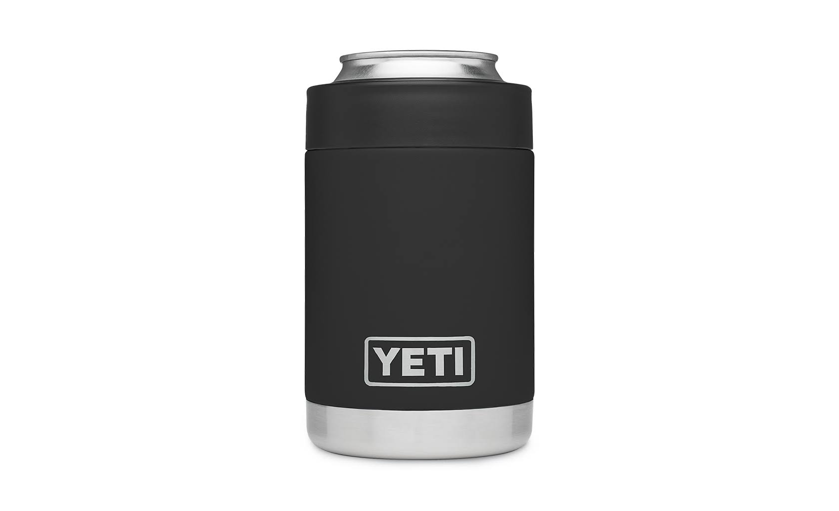 YETI Rambler Colster Insulated Stainless Steel Koozie - Black