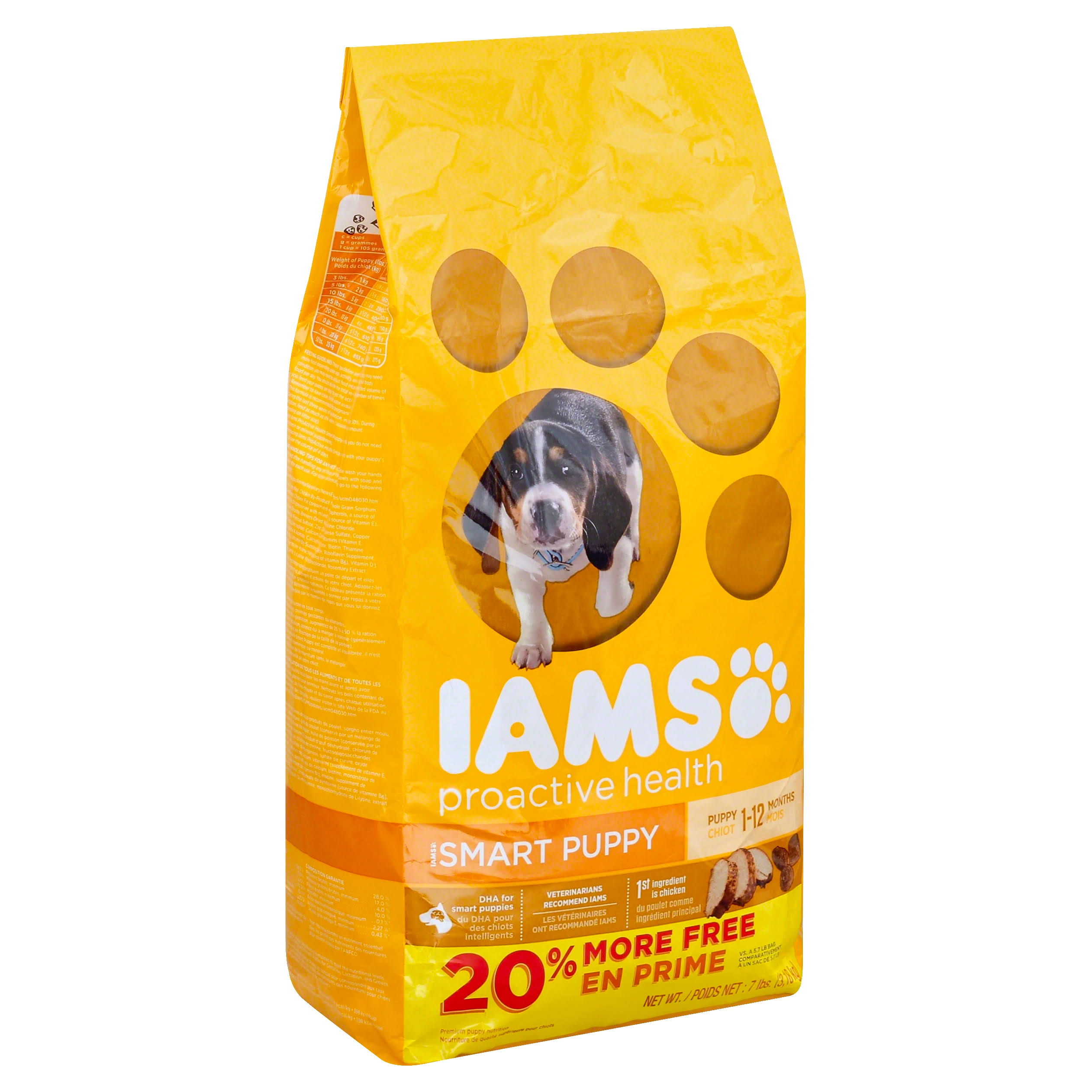 Iams Proactive Health Puppy Dry Dog Food - 1-12 Months