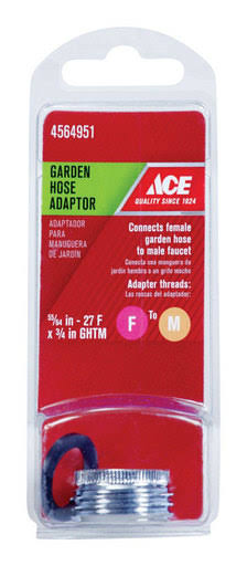 Ace Female to Male Garden Hose Adapter