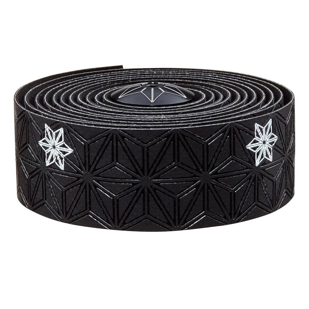 Supacaz Super Sticky Kush Galaxy Handlebar Tape - Black/White