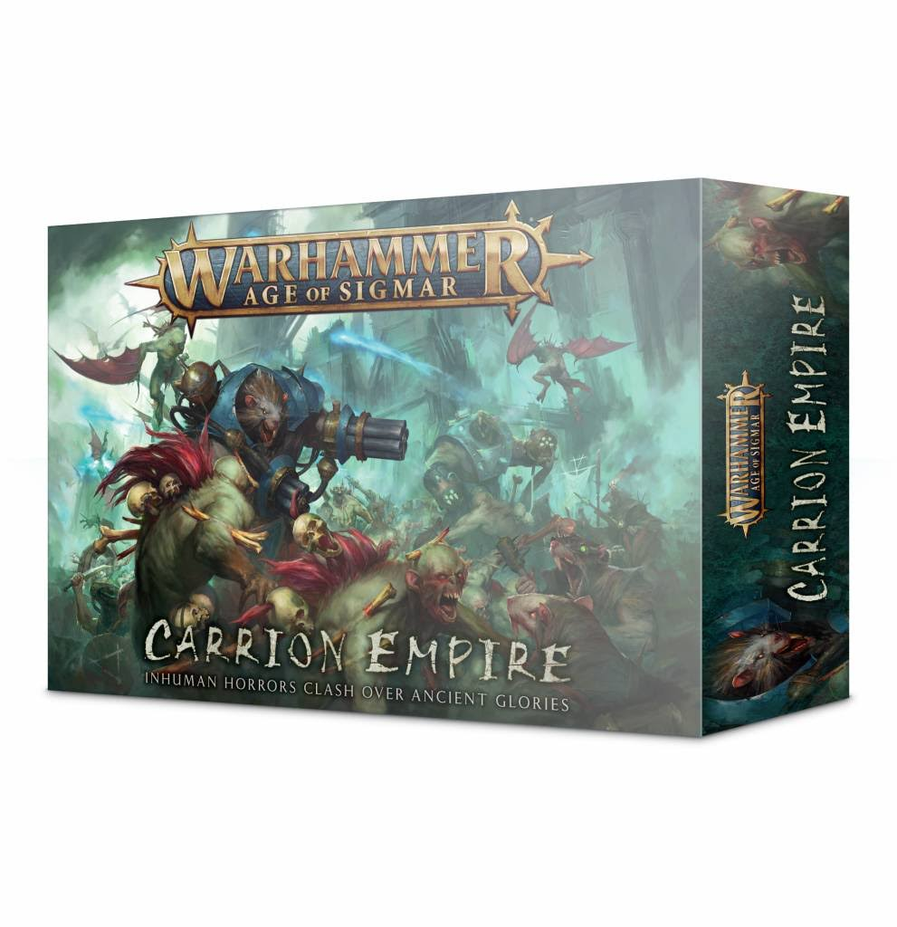 Warhammer AoS Age Of Sigmar Carrion Empire Miniatures