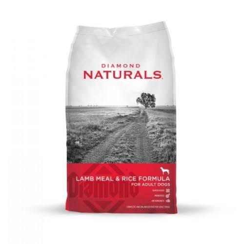 Diamond Naturals Dry Food for Adult Dogs - Lamb & Rice Formula
