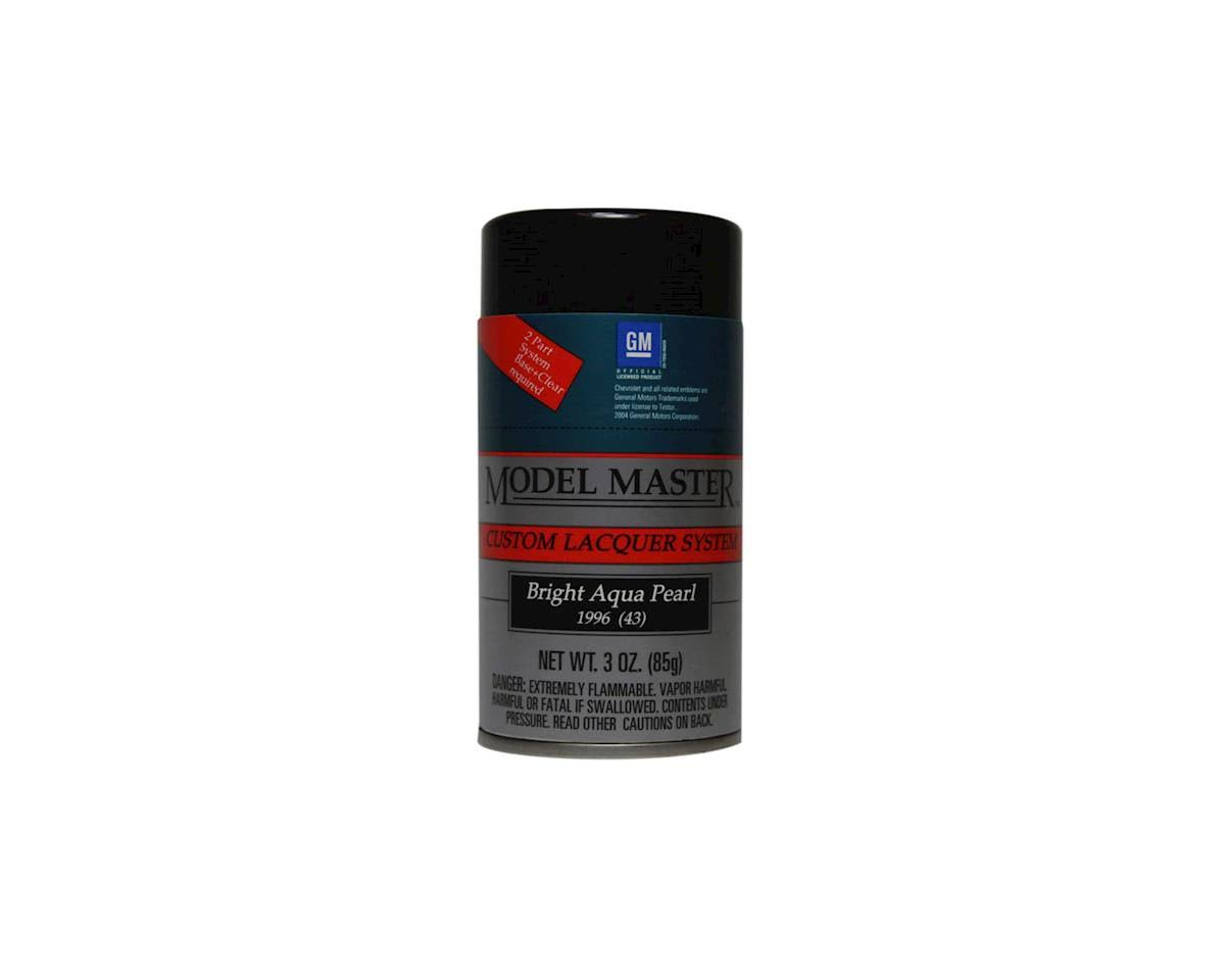 Testors Model Master Spray Bright Aqua Pearl 3 oz 28115