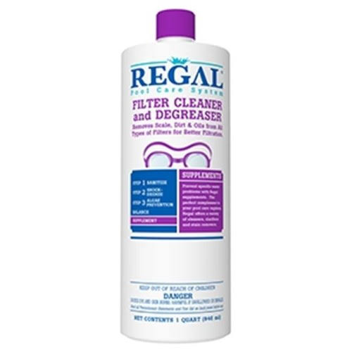 Regal 50-2740 1 Quart. Filter Cleaner & Degreaser, 12 per Case
