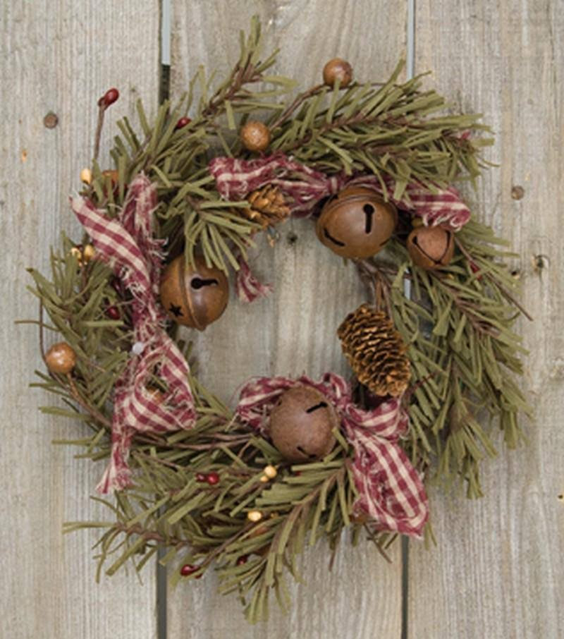 CWI | Rustic Holiday Pine Ring FT10341 by Gifts