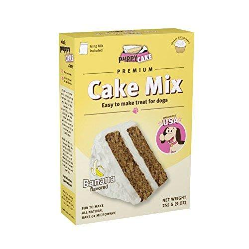 Puppy Cake Premium Cake Mix for Dogs - Banana, 255g