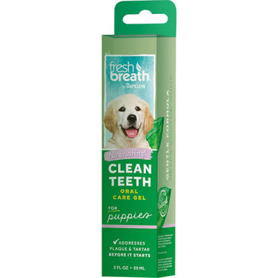 Tropiclean Fresh Breath Puppy Clean Teeth Gel Kit - 59ml