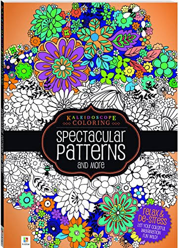 Kaleidoscope Coloring: Spectacular Patterns and More - Hinkler Books
