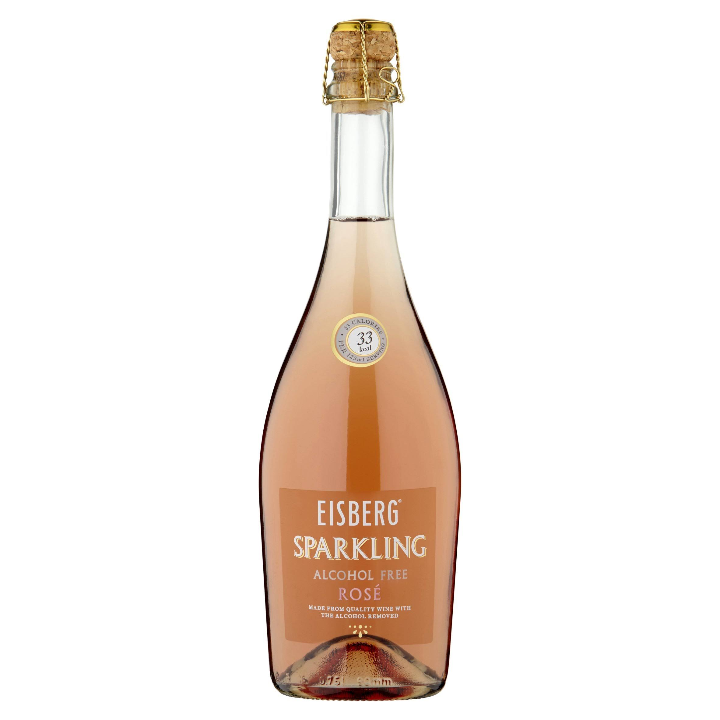 Eisberg Alcohol Free Sparkling Rose Wine 75 CL
