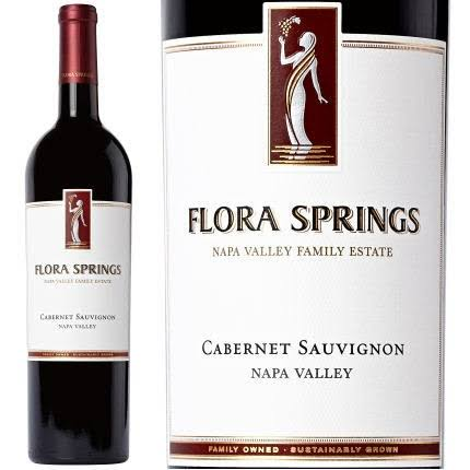 Flora Springs Cabernet Sauvignon, Napa Valley (Vintage Varies) - 750 ml bottle