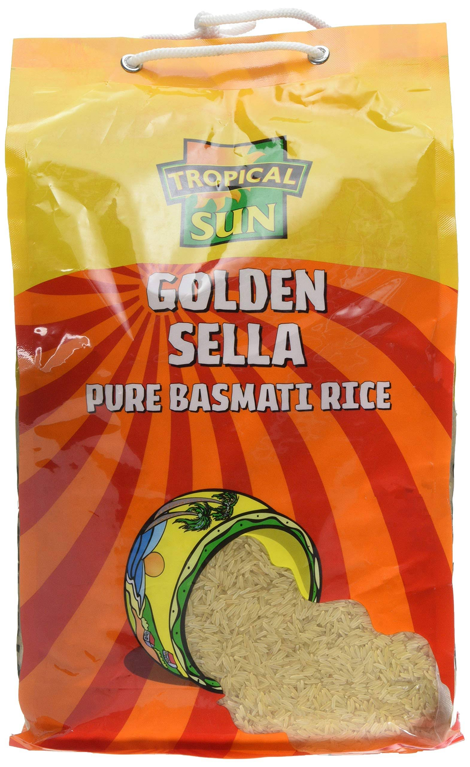 Tropical Sun Golden Sella Rice 5kg(Pack of 1)
