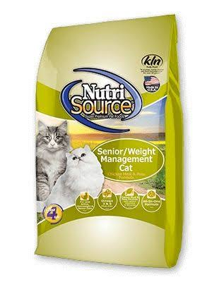 Nutrisource Senior Weight Management Cat Food