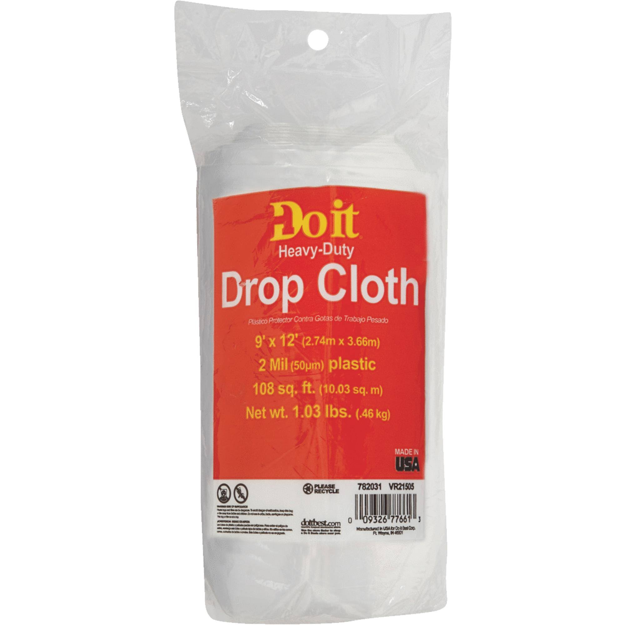 Do It Heavy Duty Drop Cloth