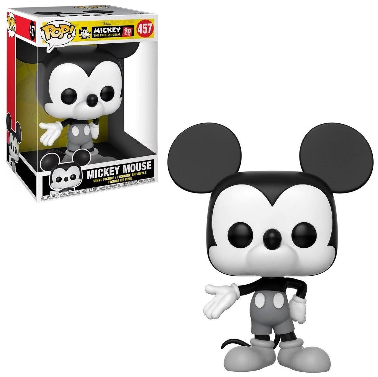 "Mickey Mouse - 90th Mickey Mouse Black & White 10"" Pop! Vinyl"