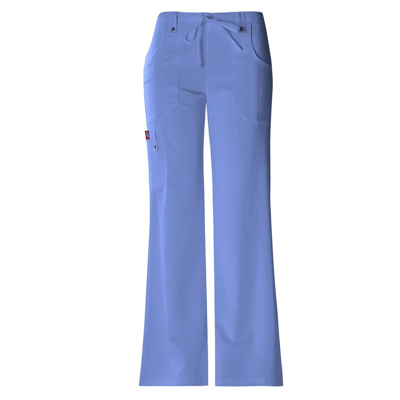 Dickies 82011 Xtreme Stretch Cargo Scrub Pants - Ceil Blue, Small