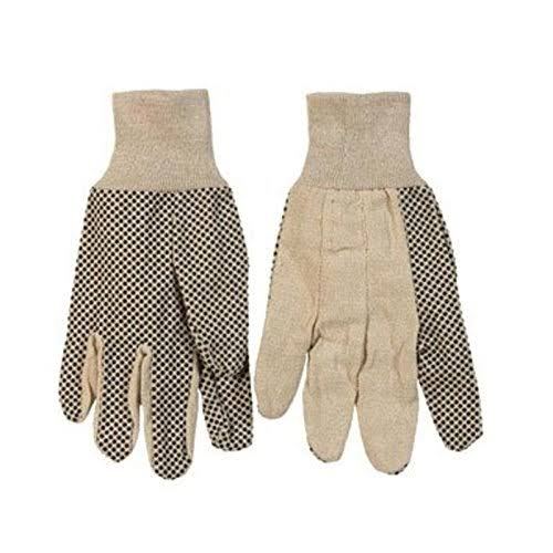Ace Dot Grip Gloves - Large, Pvc
