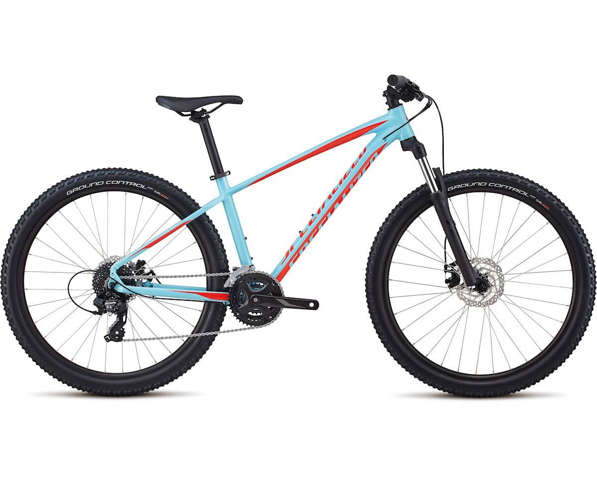 Specialized 2018 Pitch Base 650b Hardtail Mountain Bike Light Blue Rocket Red Large