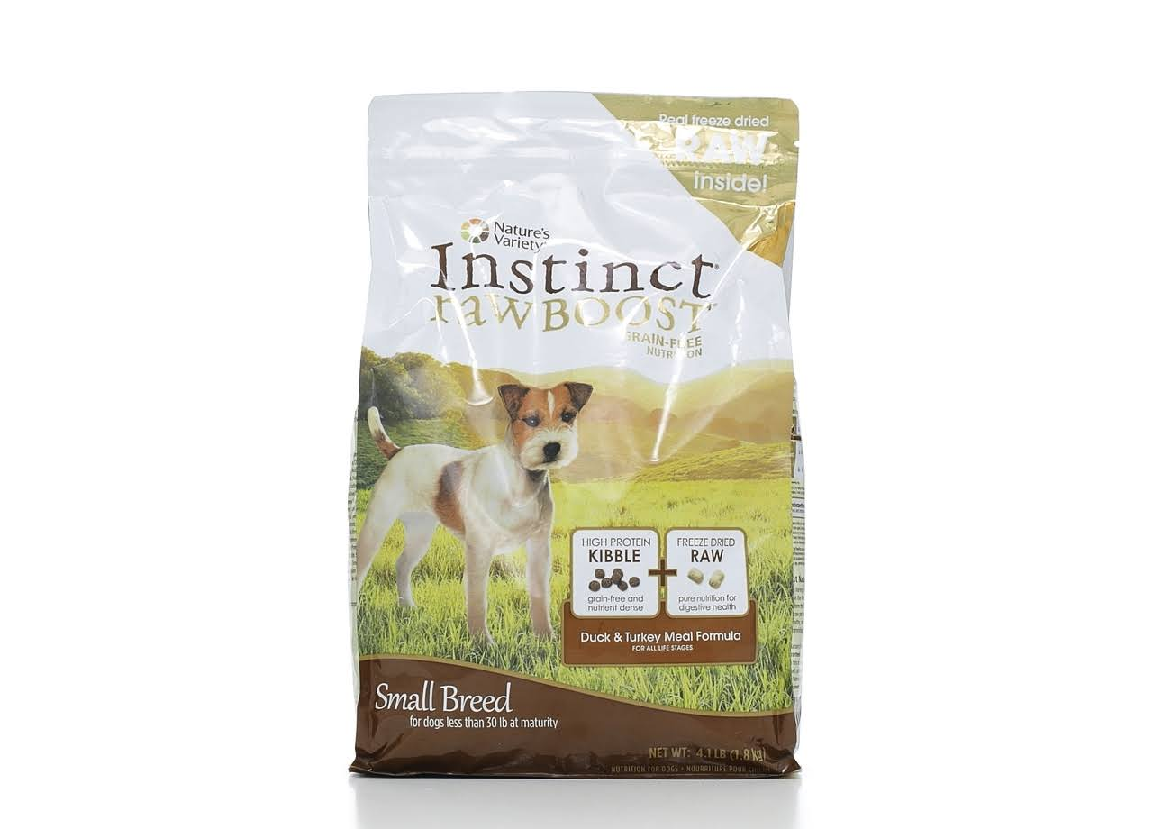 Nature Variety Instinct Raw Boost Dog Treat - Duck and Turkey, 1.8kg