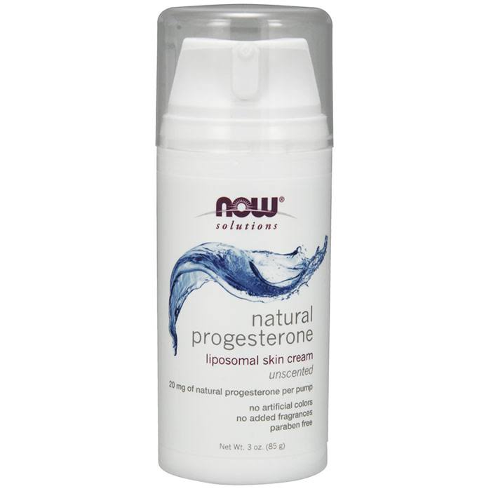 Now Foods Natural Progesterone Cream