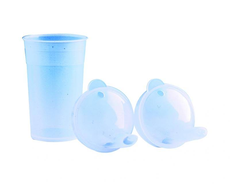 Able 2 Drinking Cup - White, Plastic
