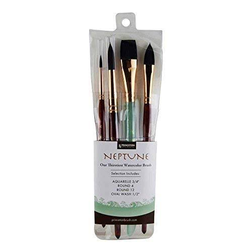 Princeton Artist Brush Neptune Brushes Set - 4pcs