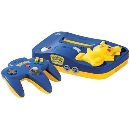 Nintendo 64 - Pikachu Blue/Yellow - Console Only