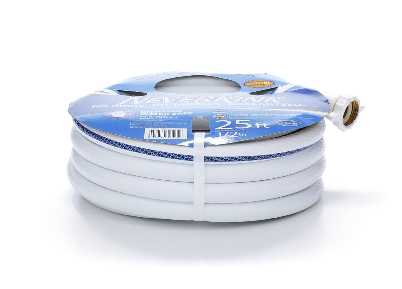 Neverkink Premium Boat and Camper Water Hose - 1/2in x 25ft