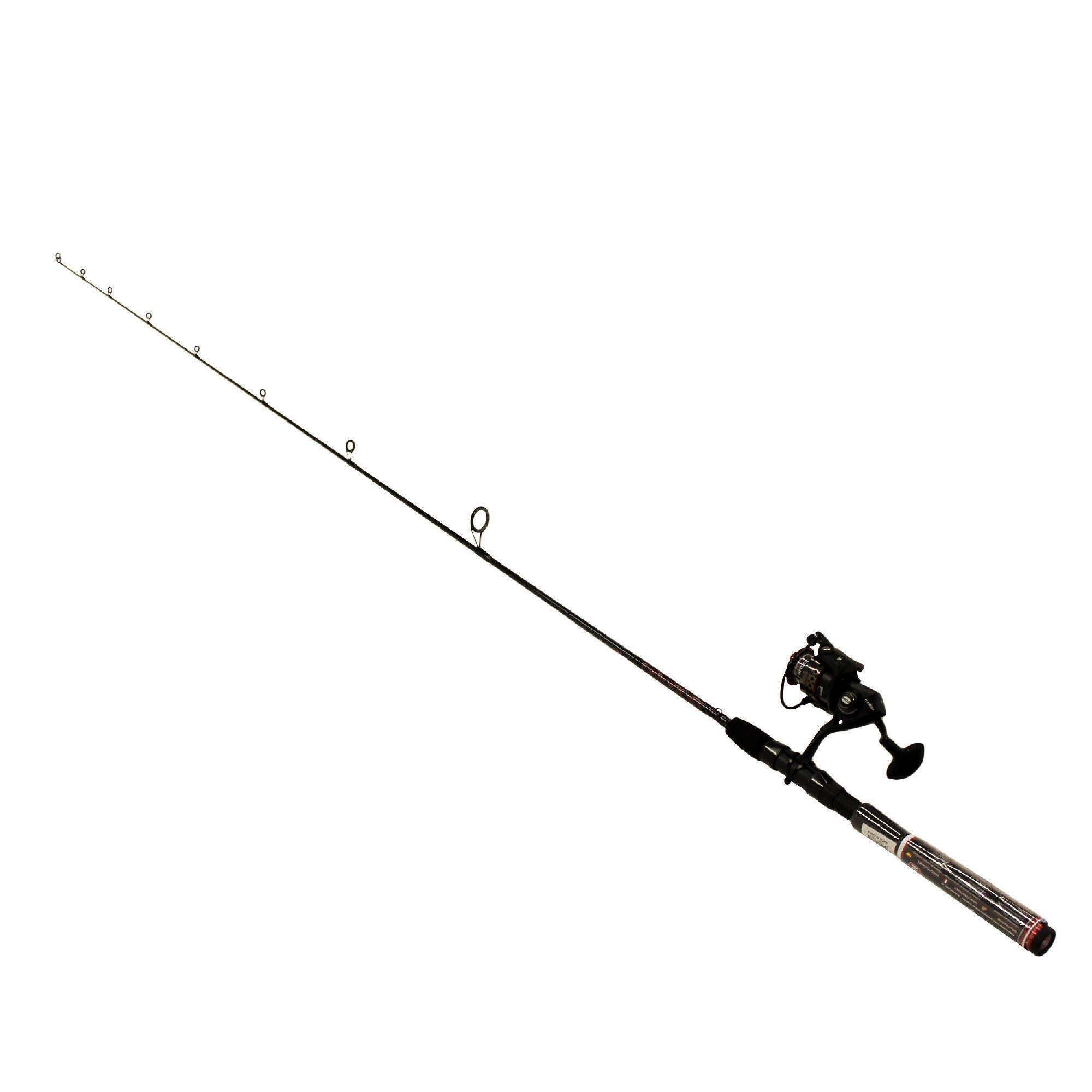 Penn Fierce II Spinning Reel Fishing Rod Combo - 6' 6""