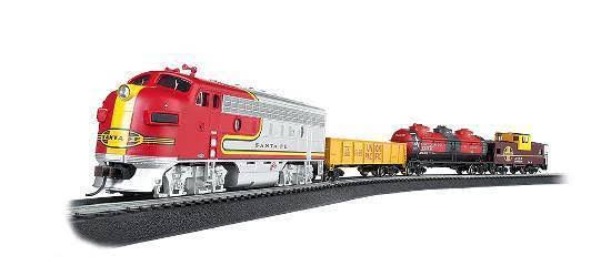 Bachmann Trains Canyon Chief Ready To Run Electric Train Set