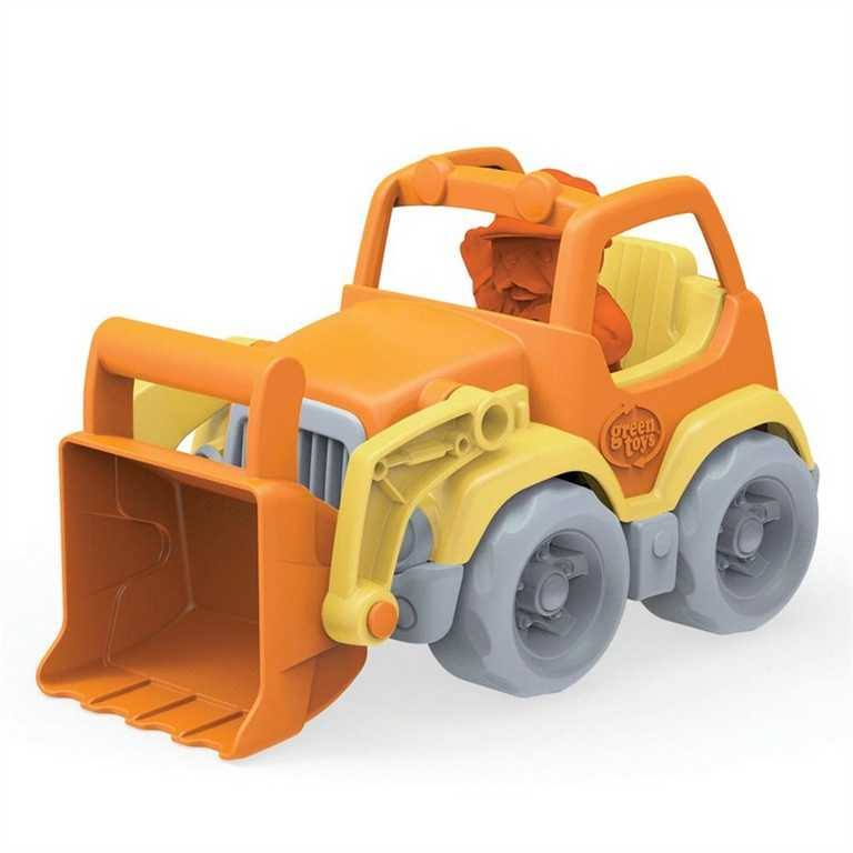 Green Toys Scooper Construction Truck Toy - for 2 Years up