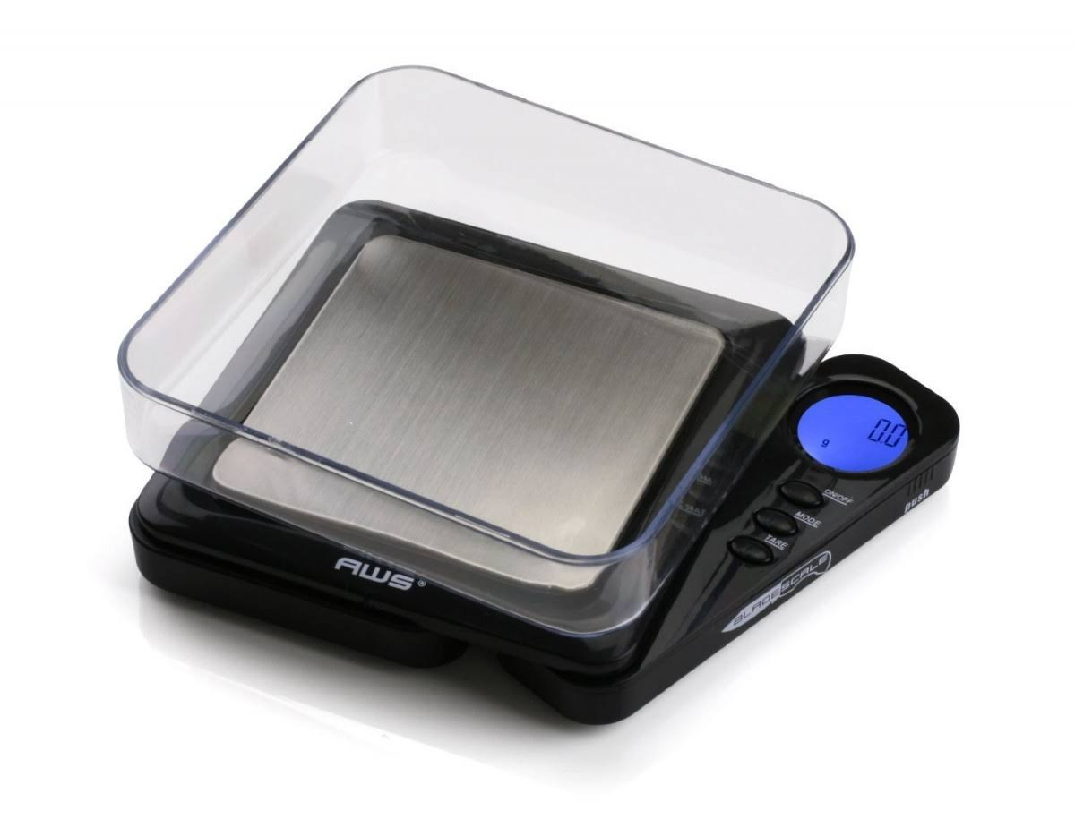 American Weigh Scales Blade Digital Pocket Scale - Black, 1000g