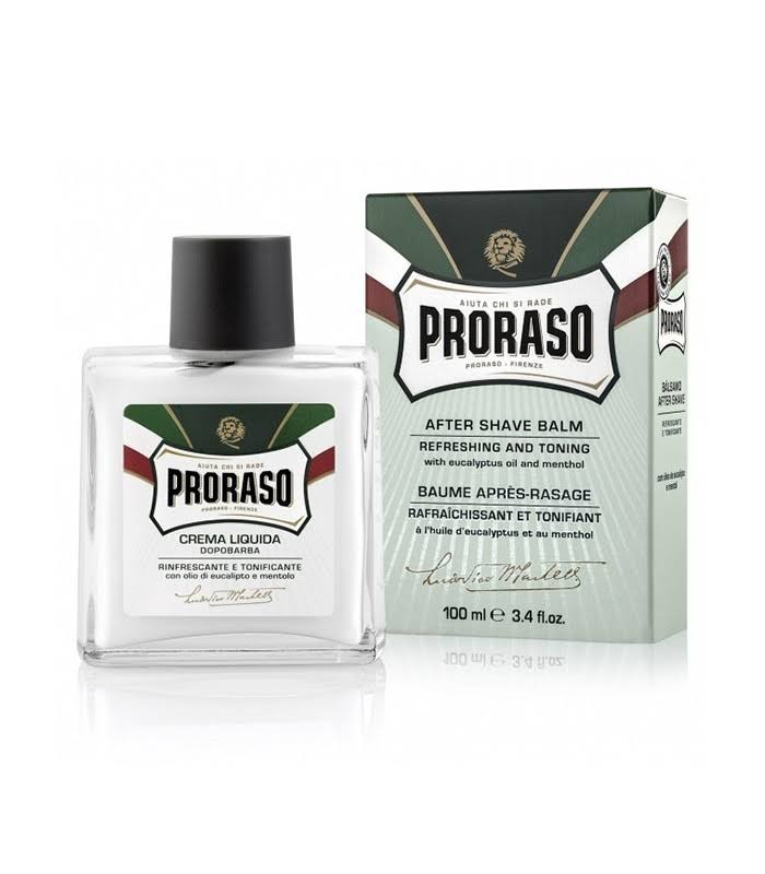 Proraso Refreshing And Invigorating Liquid After Shave Cream - With Eucalyptus Oil and Menthol
