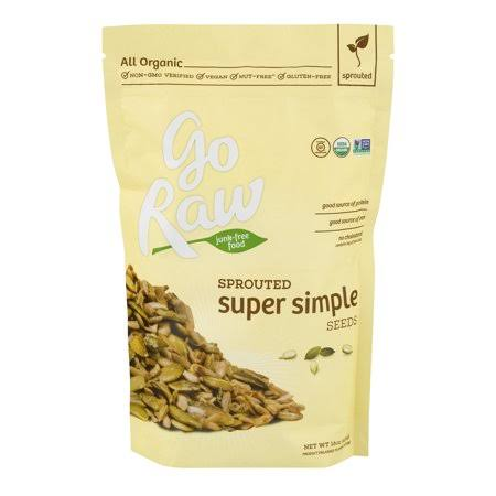 Go Raw Organic Super Simple Sprouted Seed Mix - 16oz